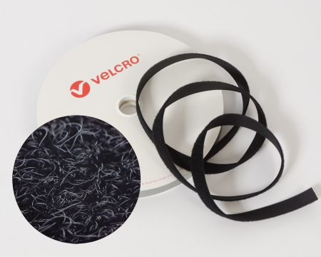 VELCRO®-Flauschband 25mm Markenware zum Aufnähen Industriequalität
