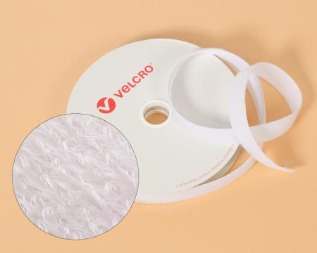 VELCRO®-Veloursband 100mm Markenware zum Aufnähen weiss