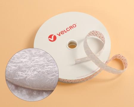 Rolle 100 St. VELCRO® 15mm Flauschpunkte selbstklebend weiss