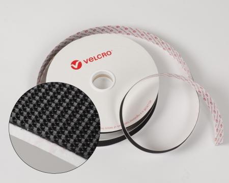 VELCRO® ULTRA-MATE® 20mm Mikrohaken-Band selbstklebend schwarz