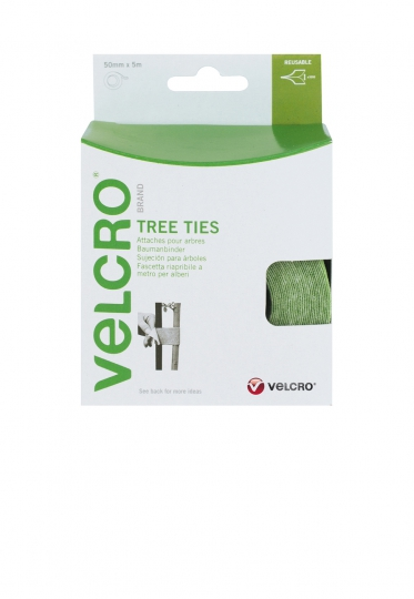 VELCRO® 60201 TREE TIES beidseitiges Klettband grün
