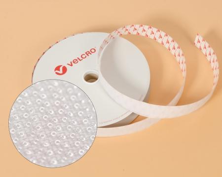 VELCRO®-Pilzkopfband VEL-LOC® 20mm selbstklebend weiss