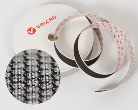 VELCRO®-Pilzkopfband VEL-LOC® 100mm selbstklebend schwarz