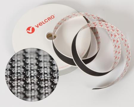 VELCRO®-Pilzkopfband VEL-LOC® 50mm selbstklebend schwarz
