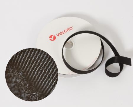VELCRO® OneWrap® 16mm beidseitiges dünnes Klettband schwarz