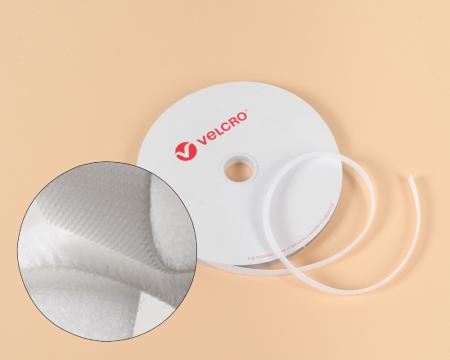 VELCRO® OneWrap® 10mm beidseitiges dünnes Klettband weiss